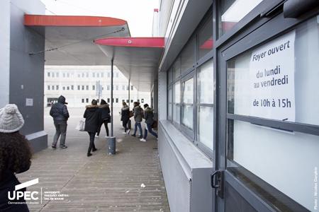 Maison des étudiants (Photo : UPEC / Nicolas Darphin)