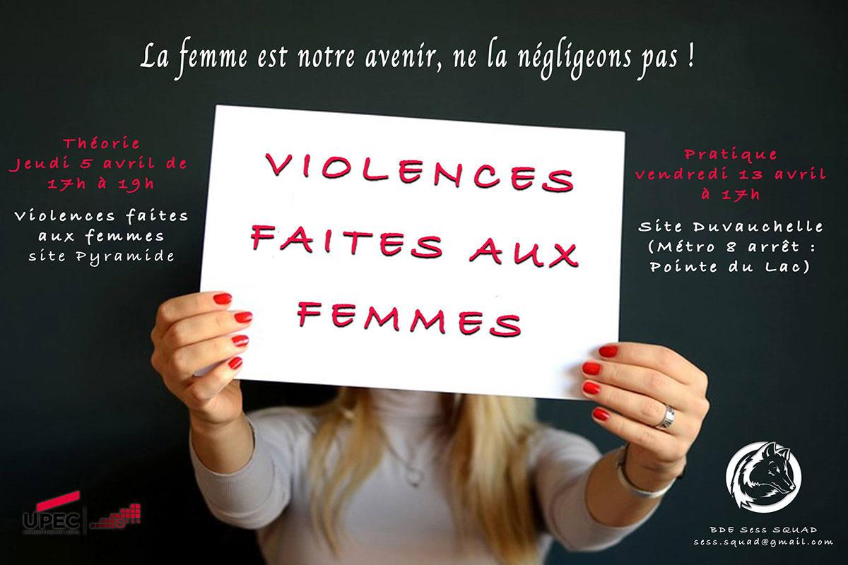Participez à la lutte contre les violences faites aux femmes avec SESS-Squad !