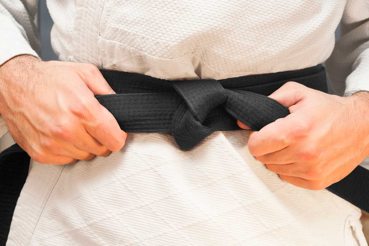 Ceinture noire de judo